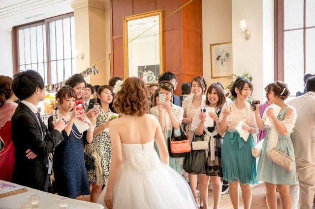 結婚式に参列したゲストの皆様