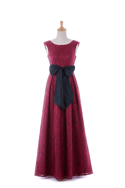 REBL刺繍入りロングドレス